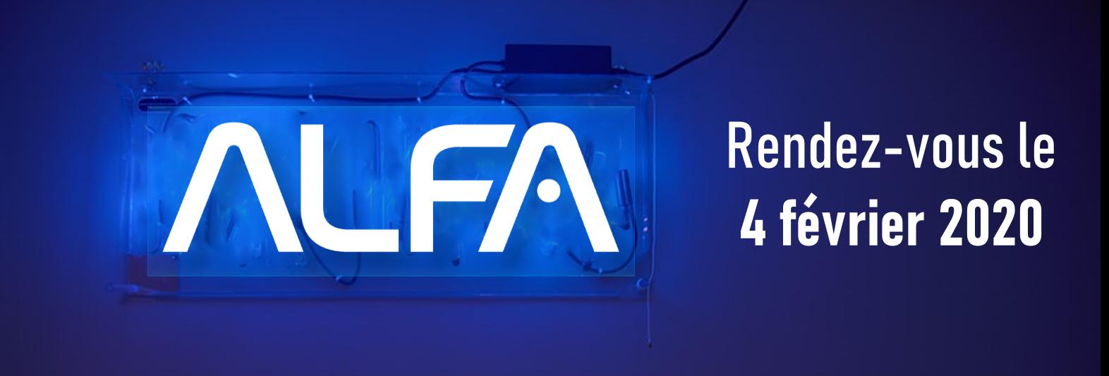 Réservez votre date ! Journée partenaire ALFA le 4 février 2020